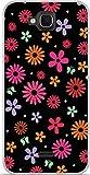 ONOZO Soft TPU Gel Case for Wiko Slide Flower Rain Design