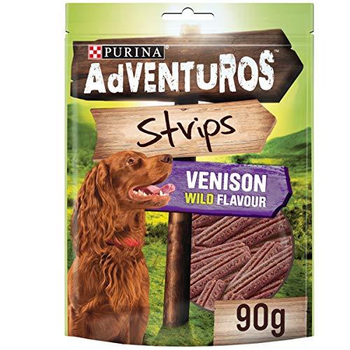 Purina Adventuros Strips with Venison Flavour 90g