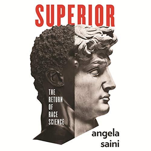Superior audiobook cover art