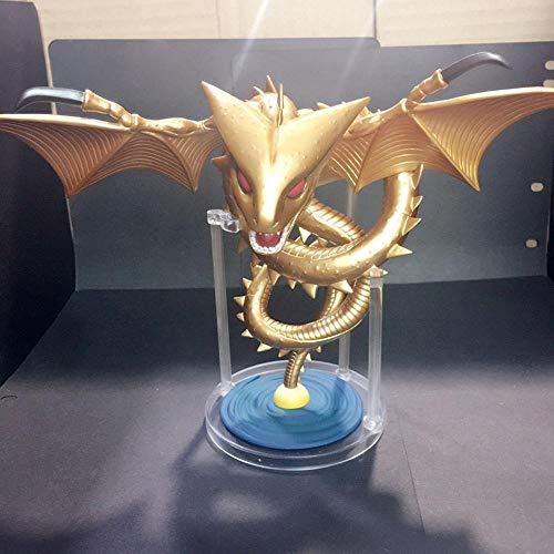 Dragon Ball Super Shenron Goldener Drache Anime Model Statue Animierter Charakter Kunstsammlung Spielzeugfigur 14cm -Erste Klasse 14cm