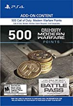 500 Call of Duty: Modern Warfare Points - PS4 [Digital Code]