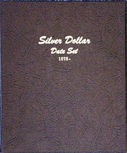 Dansco US Dollar (Morgan, Peace, Eisenhower, Anthony) Date Set Coin Album 1878 – 1999 #7172