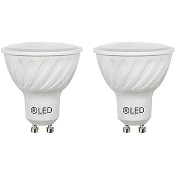 RLED Pack de Bombillas LED SMD, Luz Neutra GU10, 6.8 W, Blanco, 5 ...