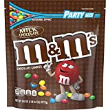 M&M's Plain Milk Chocolate Party Size Giant (2lb bag) resealable