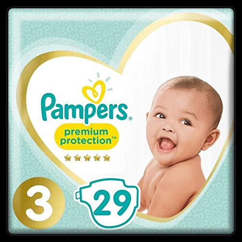 Pampers Windeln Premium Protection, Gr. 3 (6-10kg), 29 Stxfcck