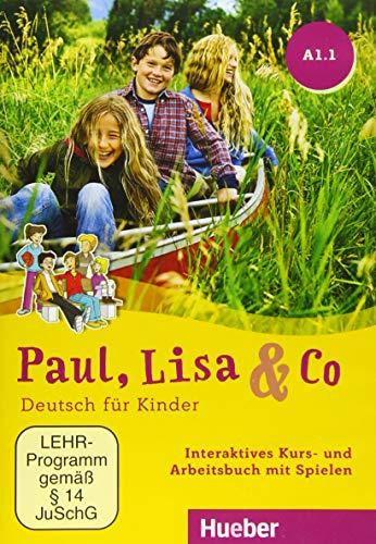 Paul, Lisa & Co A1/1: Deutsch für Kinder.Deutsch als Fremdsprache / Interaktives Kurs- und Arbeitsbuch mit Spielen – DVD-ROM