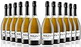 Hermelo Prosecco Doc Treviso Extra Dry - 75 cl - 12 botellas...