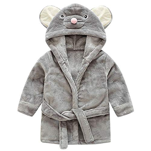 sunnymi sunnymi 1-5 Jahre Baby Mädchen Kinder Bademantel Cartoon Tiere Mit Kapuze Handtuch Pyjamas Kleidung