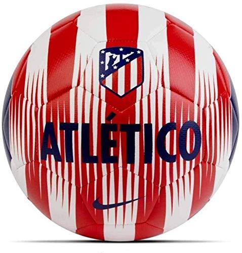 Nike Atlético de Madrid Prestige Fußball, White/Sport Red/Deep Royal Blue, 5