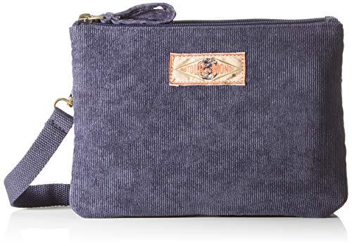 Bensimon New Bag, Mini Corduroy Donna, Marine, TU