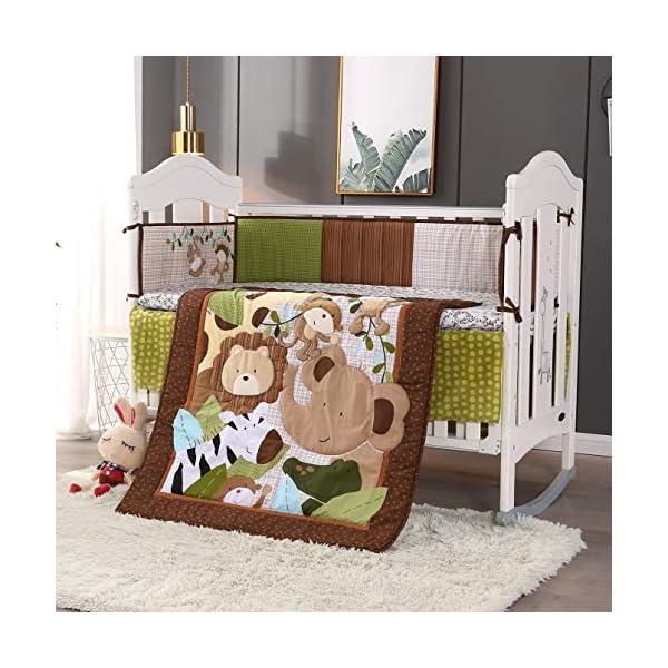 Wowelife Safari Crib Bedding