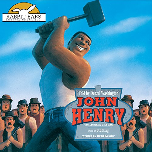 John Henry audiobook cover art