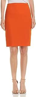 Hugo Boss Womens Vimena Solid Above Knee Pencil Skirt