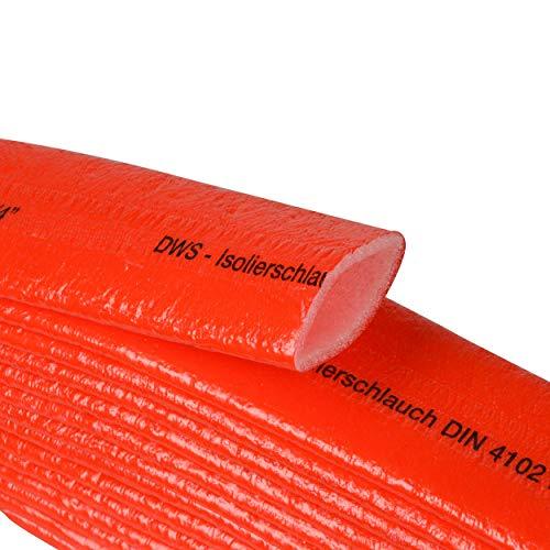 PE Schutzschlauch Isolierung 4 mm Rot 10 m Schlaufe (PE, 22 x 4 mm)