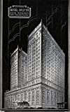 Duluth, Minnesota - Exterior View of the Hotel Duluth (9x12 Art Print, Wall Decor Travel Poster)