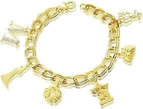 Disney Couture Kingdom - Pulsera chapada en Oro con diseño de Princesa