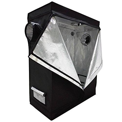 Oshion 4x2x5 Feet Small Indoor Mylar Hydroponics Grow Tent Room (48'x 24'x 60')