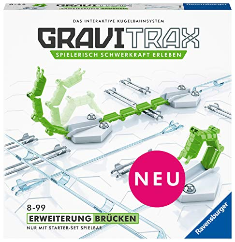 Ravensburger 26120 GraviTrax Kugelbahn - Erweiterung Brücken