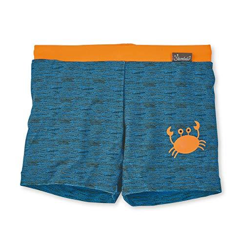 Sterntaler Jungen Badeshorts, UV-Schutz 50+, Alter: 3 - 4 Jahre, Größe: 98/104, Farbe: Blau