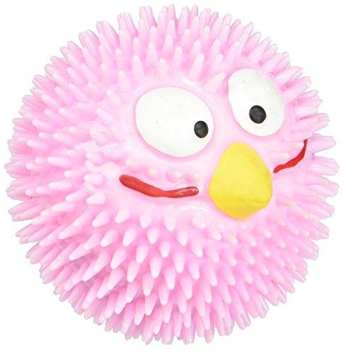 Ebi & Ebi Lucky Bird #303-421338Igelball, Hundespielzeug, Pink, Durchmesser 6cm