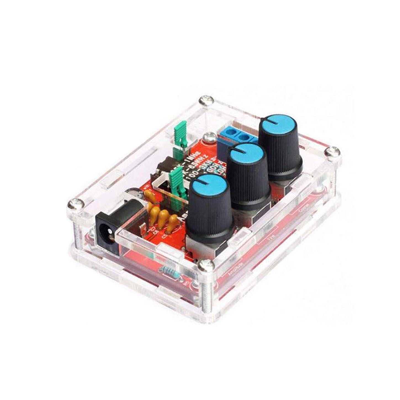マティス指紋どっちでもRen He XR2206 信号発生器 低周波発振器 オーディオ シグナル DIY 正弦/三角/正方形出力 1Hz?1MHz 周波数振幅調整可能 収納ボックス付き