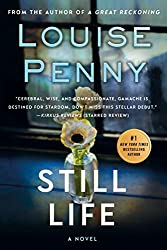 book cover for Still Life by Louise Penny; books set in Montreal