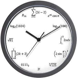CafePress Math Equation and Notation Clock Unique Decorative 10