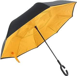 Paraguas Compacto y a Prueba de Viento Que Abre y Cierra automáticamente el Paraguas Plegable,Paraguas inverso inverso en el Paraguas, Paraguas no Mojado, Color a Prueba de viento27 95cm: Amazon.es: Hogar