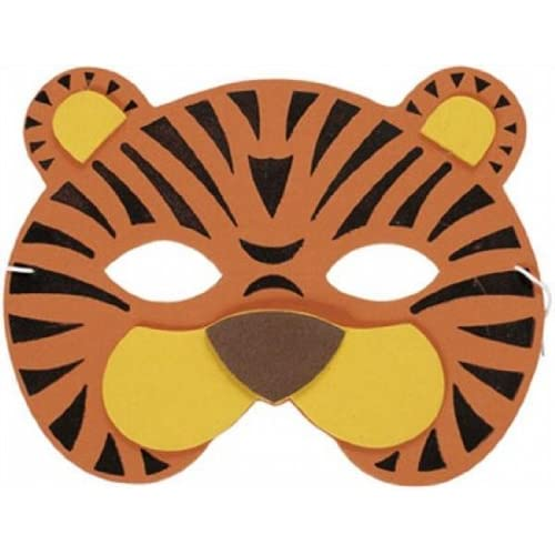 picture regarding Tiger Mask Printable named Tiger Mask: .british isles