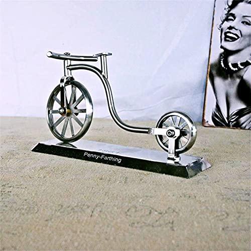 ZJJX Decoración vintage para bicicleta, estilo antiguo, decoración artesanal, para cafetería, hogar, oficina, estantería