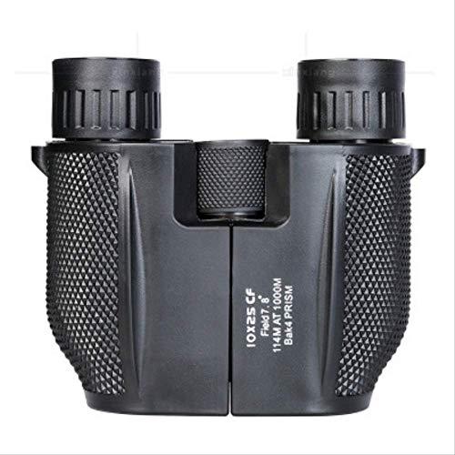 Binoculares Cross-Border Amazon 10X25 Little Paul Portable High-Speed HD Telescopio Doble Al Aire Libre Microlight Telescopio
