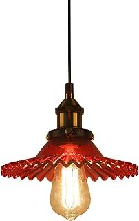 Huahan Haituo industrialna vintage lampa wisząca lampa szklana klosz retro szkło wisząca lampa sufitowa wisząca wisząca op...