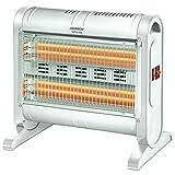 Palucart Stufa quarzo basso consumo elettrica inferno 1600w con ventola integrata...
