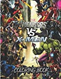 Marvel Coloring Book: +50 latest high quality images of \