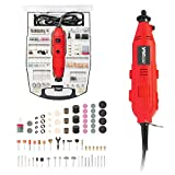 Get YIYITOOLS Rotary Tool Power Rotary Tool – With 234 Accessories, 1A, 6 Step Variable Speed, Orange and Black (S1J-FE3-10) Just for $36.99