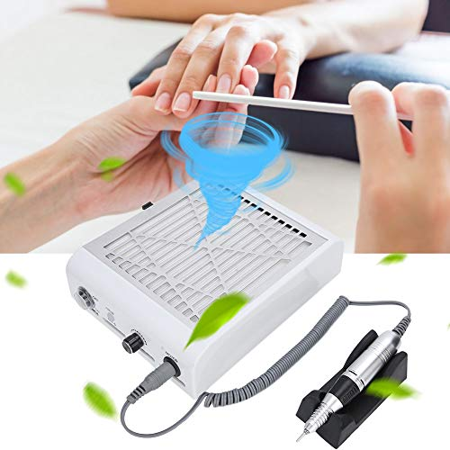 Aspirador de uñas profesional, cortador de uñas eléctrico, aspirador de uñas, extracción...