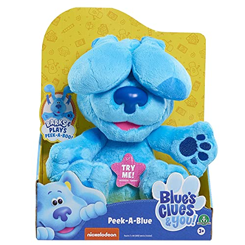 Famosa – Las Pistas de Blue y Tú, Peek-A-Boo Plush...
