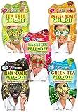 7th Heaven Pamper Peel Off Face <span class='highlight'>Mask</span> Pack <span class='highlight'>with</span> Tea Tree, Manuka Honey, Passionflower, Black <span class='highlight'>Sea</span>weed and Green Tea for All Skin Types