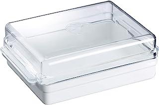 Westmark Kylskåpssmörbehållare, plast, Traditionell, vit/transparent, 20882241