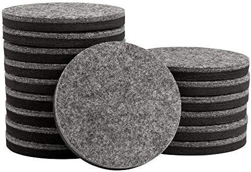 SuperSliders 4734095N Felt Furniture Movers for Hardwood Floors Heavy Duty Reusable Sliders product image