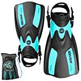 Seaview 180 RAWA Snorkel Fins, Adjustable Swim Fins for Travel,...