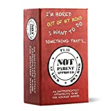 Not Parent Approved: A Fun Card Game for Kids, Tweens, Teens, Families and Mischief Makers - The Original,...