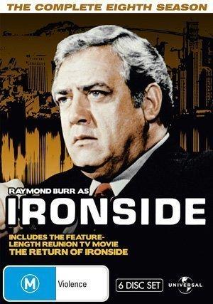 Ironside (Complete Season 8) - 6-DVD Box Set ( Ironside - Season Eight (The Raymond Burr Show) ) [ NON-USA FORMAT, PAL, Reg.0 Import - Australia ] by Raymond Burr