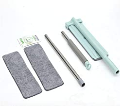 Mop Microfiber Flat Squeeze Free Hand Washing Floor Cleaning Mop Mop Pad Wet and Dry Use Rotary Mop Home House Office