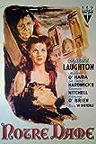 Der Glöckner von Notre Dame (1939)   Import Filmplakat,