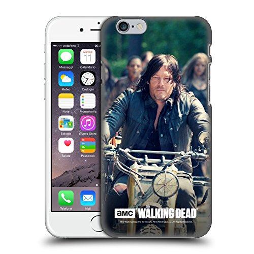 Oficial AMC The Walking Dead Paseo En Bicicleta Daryl Dixon Carcasa rígida Compatible con Apple iPhone 6 / iPhone 6s