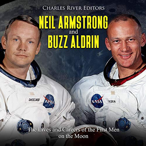 Neil Armstrong and Buzz Aldrin cover art