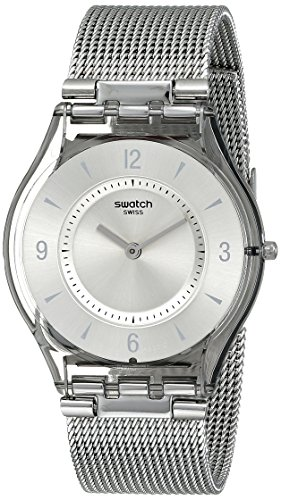 Swatch Women's SFM118M Quartz Stainless Steel Silver Dial Casual  Watch - http://coolthings.us
