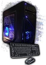 Custom Gaming PC AMD Quad-Core Desktop Computer System 4.2GHz 16GB 2TB GeForce GT 720 1GB Windows 10 WiFi