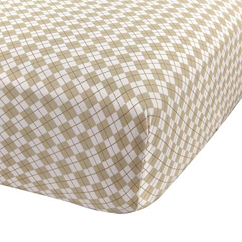 Fitted Knit Crib Sheet - Best Crib Sheet for Baby - Infant | Toddler 100% Cotton Jersey Knit Deep Fitted Bed Sheet